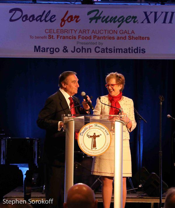 Tony Lo Bianco, Celebrity Auctioneer & Kathleen Guzman, Auctioneer