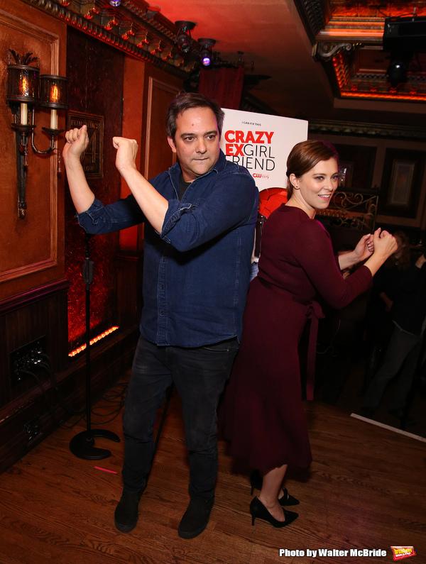 Adam Schlesinger and Rachel Bloom