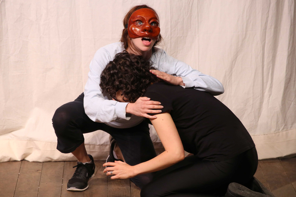 Photo Flash: New Peek at THE SERVANT OF TWO MASTERS in Rehearsal at Theatre for a New Audience