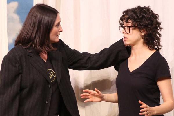 Liz Wisan and Adina Verson