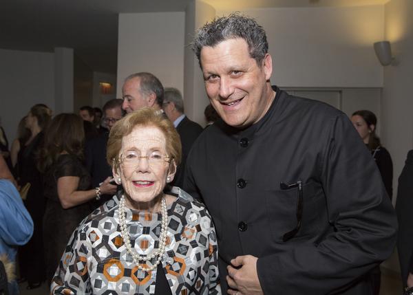 Mary Sharp Cronson and Isaac Mizrahi