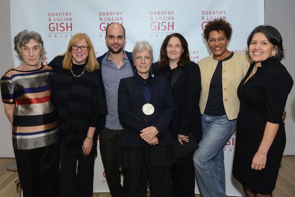 Photo Flash: The Wooster Group's Elizabeth LeCompte Receives 23rd Dorothy and Lillian Gish Prize
