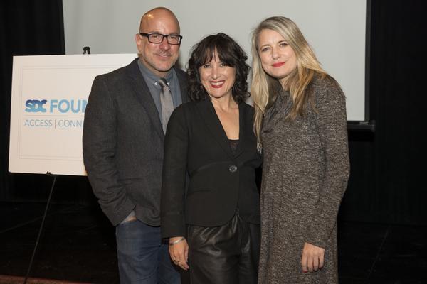 Eric Rosen, Lisa Portes, Aimee Hayes Photo