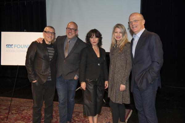 Michael Halberstam, Eric Rosen, Lisa Portes, Aimee Hayes and Charles Newell