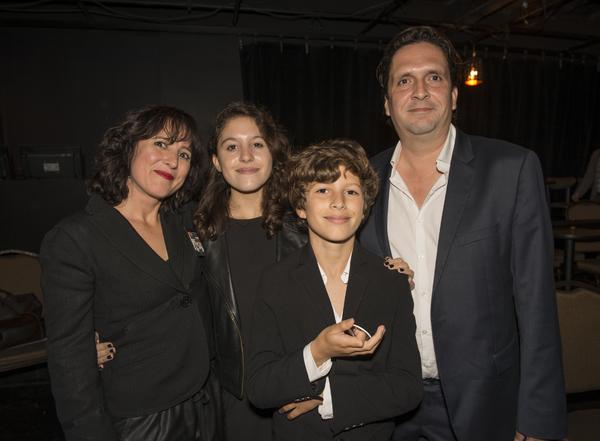 Lisa Portes and family