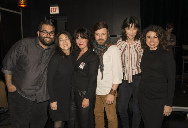 Nathan Singh, Sun Hee Lee, Lisa Portes, Mikhail Fiksel, Charin Alvarez and Sandra Delgado