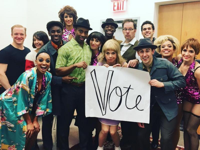 Photo Flash: First Look at the SWEET CHARITY Cast in Costume!