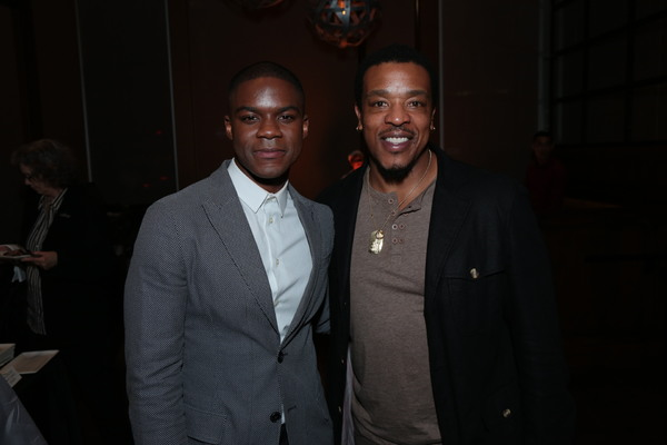 Jovan Adepo and Russell Hornsby