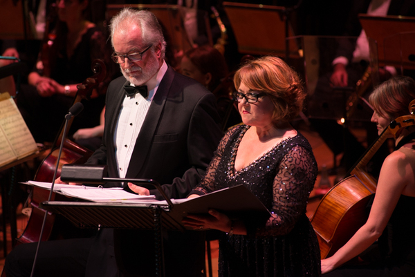 Clive Carter & Wendi Peters Photo