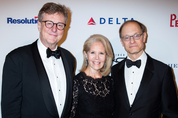 Brian Hargrove, Daryl Roth, David Hyde Pierce