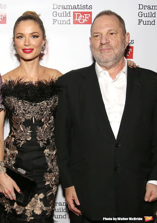 Georgina Chapman and Harvey Weinstein Photo