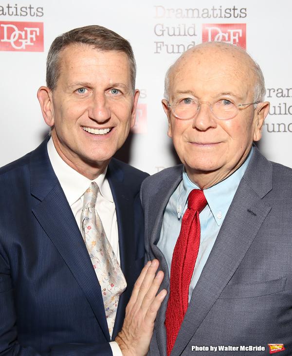 Thomas Kirdahy and Terrence McNally Photo
