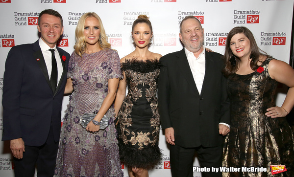 Andrew Lippa, Keren Craig, Georgina Chapman, Harvey Weinstein and Rachel Routh
