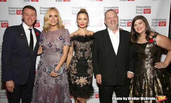 Andrew Lippa, Keren Craig, Georgina Chapman, Harvey Weinstein and Rachel Routh  Photo
