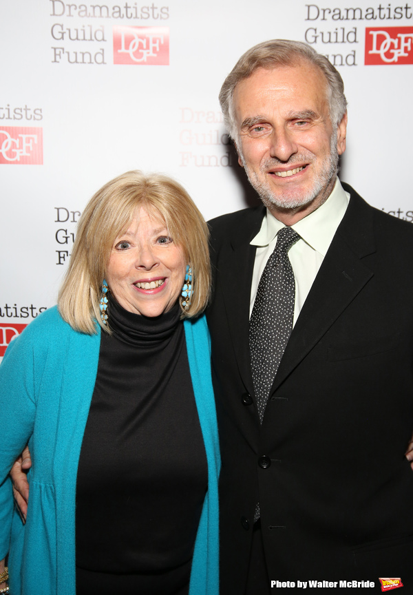 Nan Knighton and John Breglio