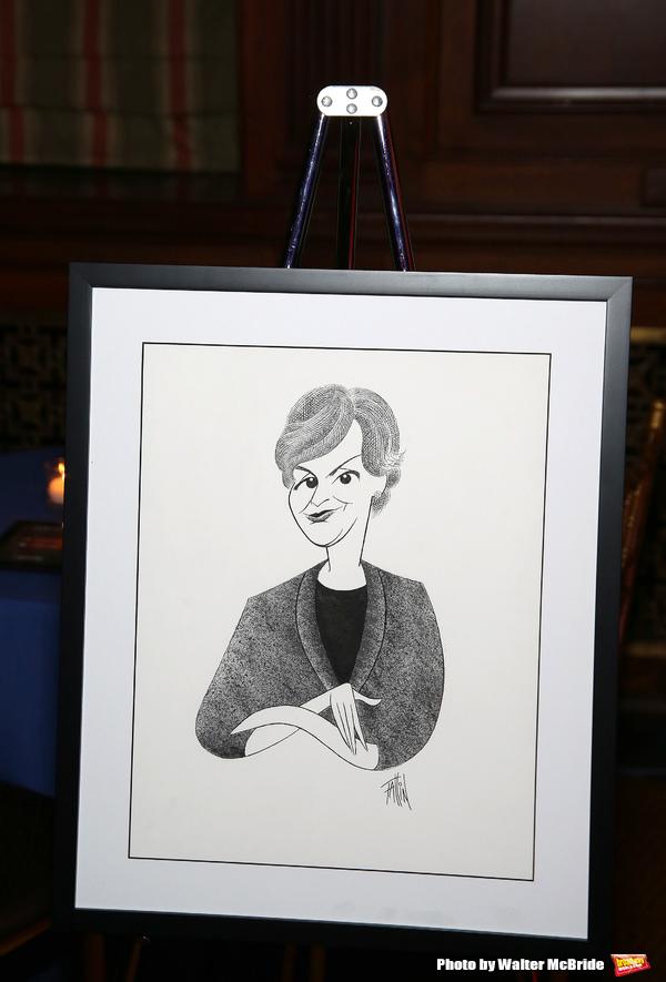 Linda G. Levy drawing by Ken Fallin