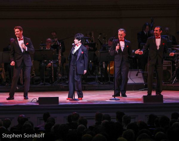 Andy Karl, Chita Rivera, Alan Cumming, JavierMunoz