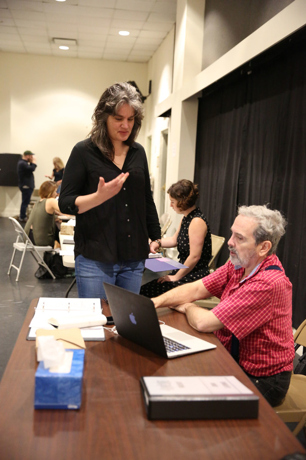 Photo Flash: First Look at Rehearsals for AMELIE, Starring Phillipa Soo