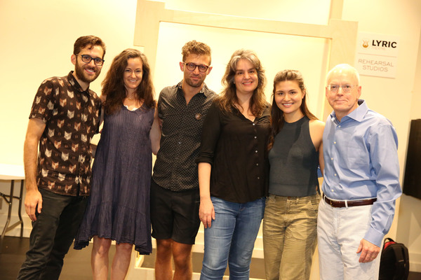 Adam Chanler-Berat, Kimberly Grigsby, Sam Pinkleton, Pam MacKinnon, Phillipa Soo and Doug Baker