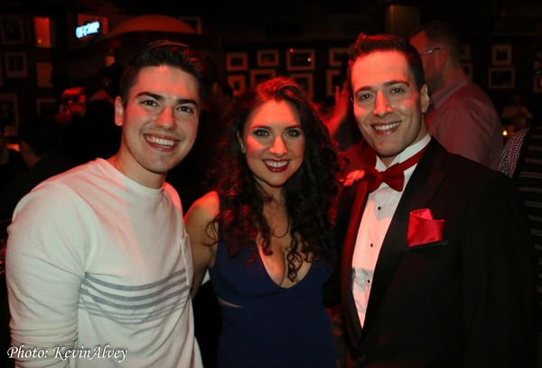 John Pinto Jr, Emily Goglia and Randy Rainbow