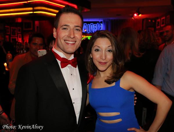 Randy Rainbow and Christina Bianco