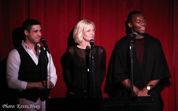 Travis Ward-Osborne, Jennifer Foote and Borris York