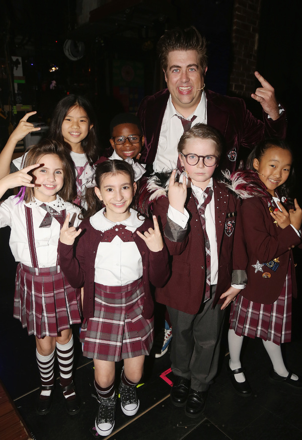 Photo Flash: The New Class at SCHOOL OF ROCK Takes First Bows!