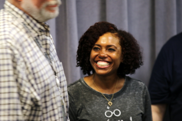 Photo Flash: In Rehearsal with David de Vries and More for A CHRISTMAS CAROL at Alliance Theatre