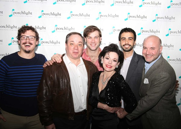 Photo Flash: Opening Night Photos for Porchlight Music Theatre's END OF THE RAINBOW at Stage 773