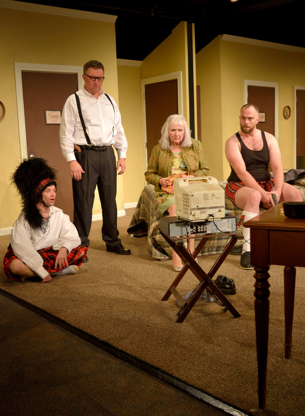 Will Hardyman as Eric Sheridan, Mike Bolan as Agent Frank, Ruth Neaveill as Mary Meekly, John-Patrick Driscoll as Todd