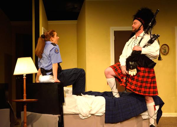 Susan Slotoroff as Billie Dwyer, John-Patrick Driscoll as Todd Photo