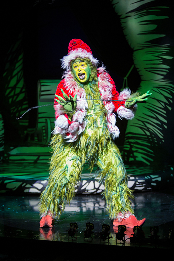J. Bernard Calloway as The Grinch in Dr. Seuss' How the Grinch Stole Christmas Photo