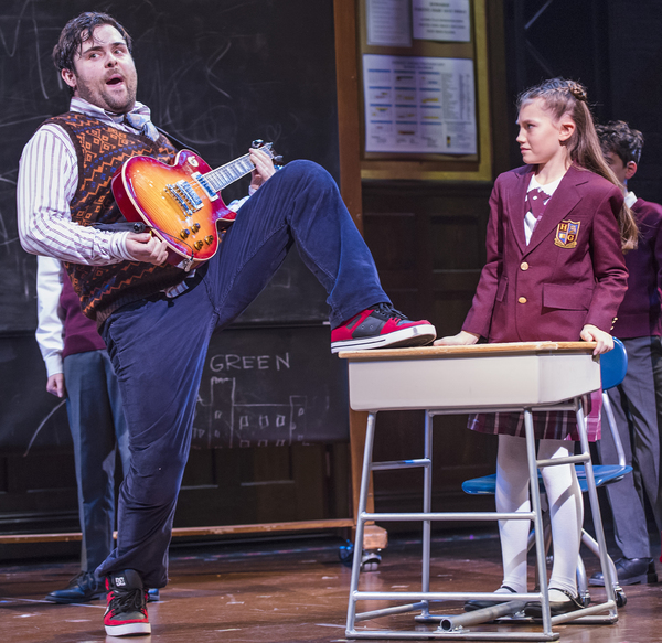 Photo Flash: West End Production of SCHOOL OF ROCK