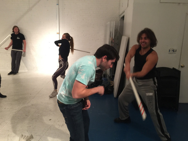 Photo Flash: THE VIDEO GAMES, Starts rehearsals in NYC