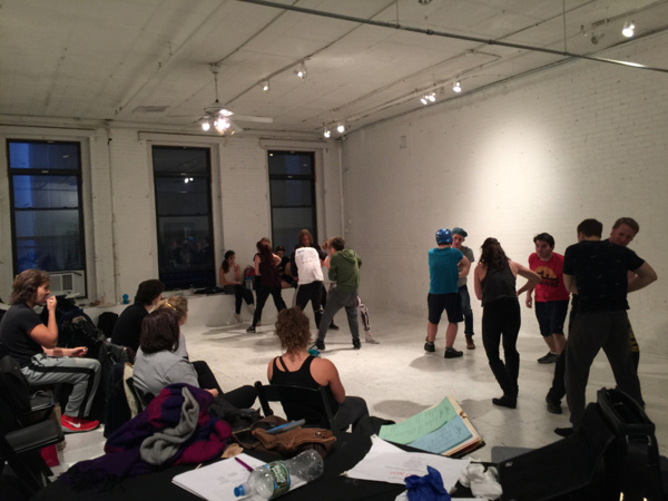 Photos: THE VIDEO GAMES, Starts rehearsals in NYC