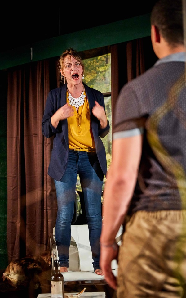 Photo Flash: First Look at First Floor Theater's DEER AND THE LOVERS at The Den Theatre