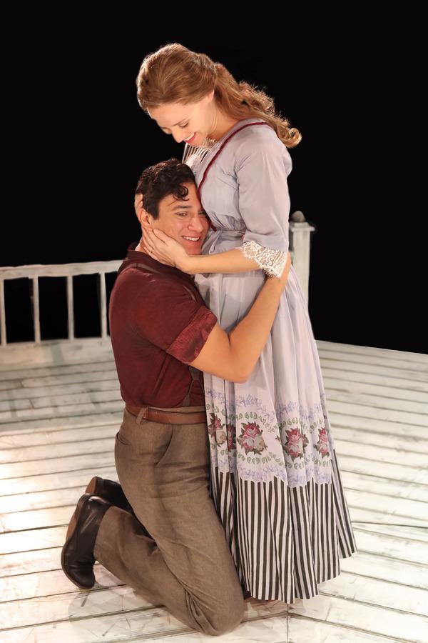 Nicholas Rodriguez and Betsy Morgan
