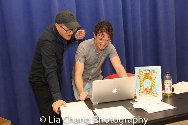 John Carrafa and Andrew Gerle  Photo