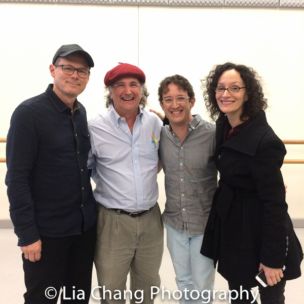 John Carrafa, Mark-Linn Baker, Andre Gerle and Barbara Walsh