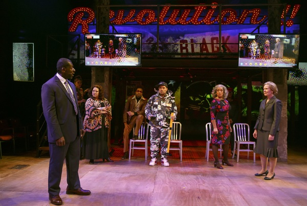 Photo Flash: First Look - UNIVERSES' PARTY PEOPLE Takes Politics to a New Level at The Public Theater