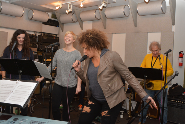Photo Coverage: ROCKERS ON BROADWAY on Day 2 of Rehearsals