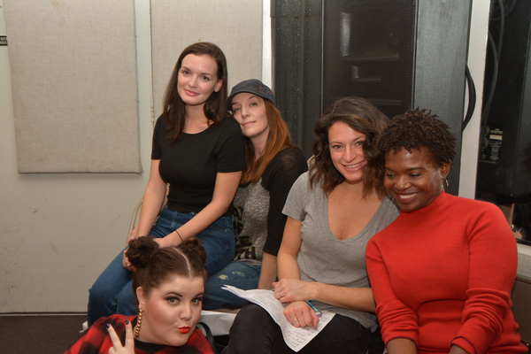 Jennifer Damiano, Julia Murney, Jackie Burns, LaChanze and Ryann Redmond