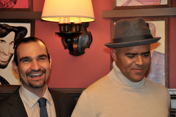 Javier Munoz and Christopher Jackson
