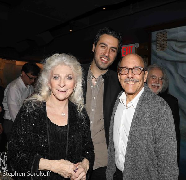 Judy Collins, Ari Hest, David Buskin Photo