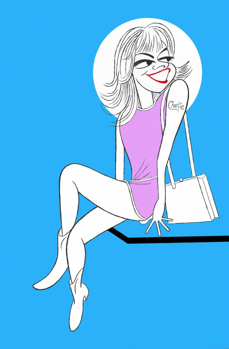 BWW Exclusive: Ken Fallin Draws the Stage - Sutton Foster in SWEET CHARITY!