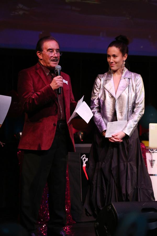 Frank Carucci and Mia Yoo