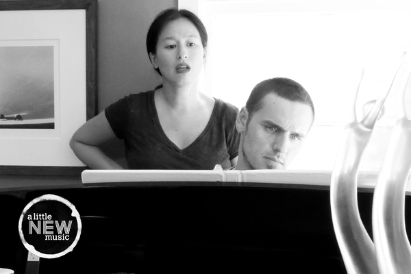 Marie-France Arcilla rehearses with music  Gregory Nabours