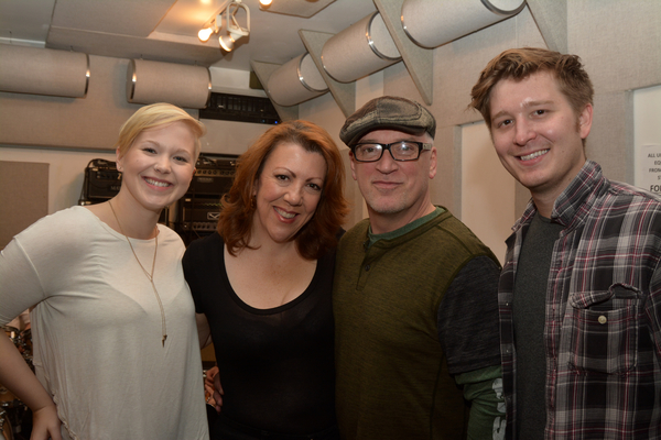 Brook Wood, Jen Perry, Donnie Kehr and Maximilian Sangerman