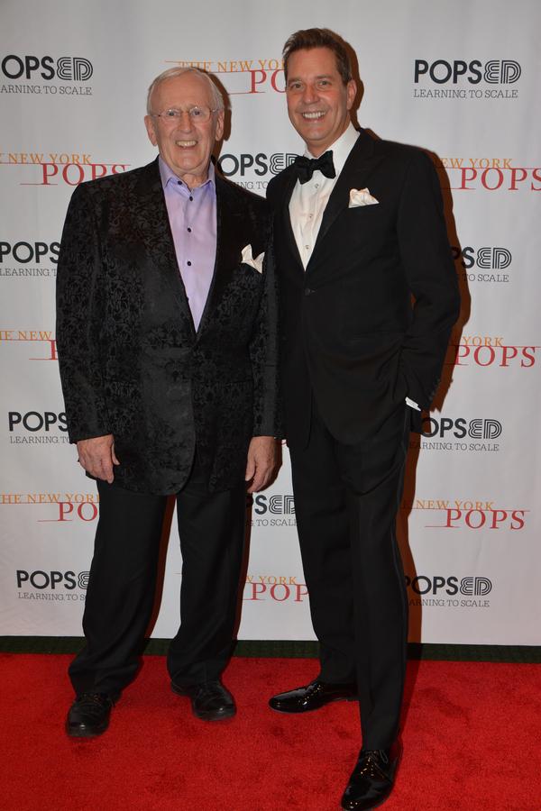 Len Cariou and Steven Reineke