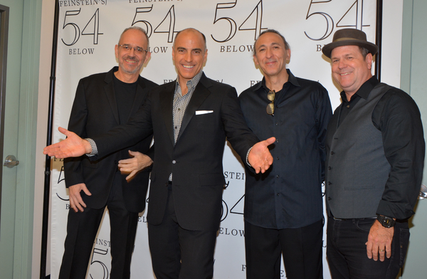 Ross Patterson, William Michals, Don Falzone and Eric Halverson Photo